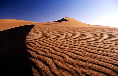 Rub'Al Khali in Saudi-Arabien