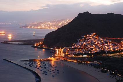 Santa Cruz de Teneriffa - Hauptstadt der Insel.